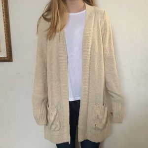Maurices Tan Cardigan
